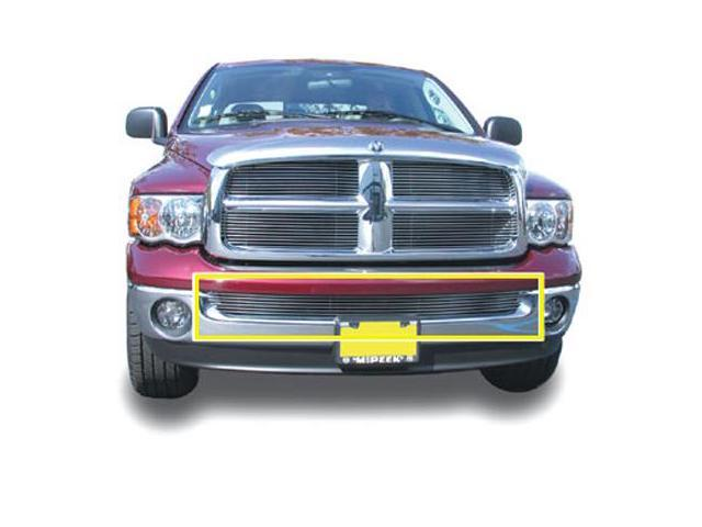 T-REX 2002-2008 Dodge Ram PU (Except Sport & Diesel) Bumper Billet Grille Insert - Use w/Chrome Bumpers (Except Diesel) POLISHED 25465