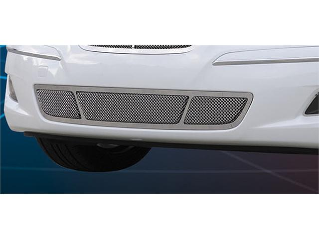 T-REX 2009-2010 Hyundai Genesis Sedan Upper Class Polished Stainless Bumper Mesh Grille - With Formed Mesh Center (will only fits vehicles without Tech Package) POLISHED 55494