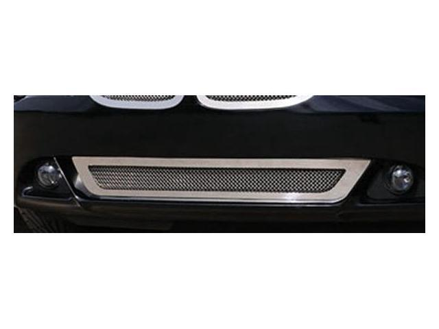 T-REX 2004-2011 BMW 6 Series Coupe Upper Class Polished Stainless Bumper Mesh Grille - With Formed Mesh Center POLISHED 55997