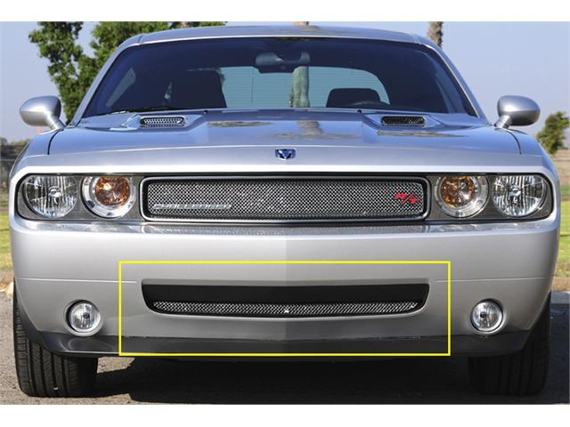 T-REX 2009-2010 Dodge Challenger (ALL) Sport Series Formed Mesh Bumper - Triple Chrome Plated CHROME 45415