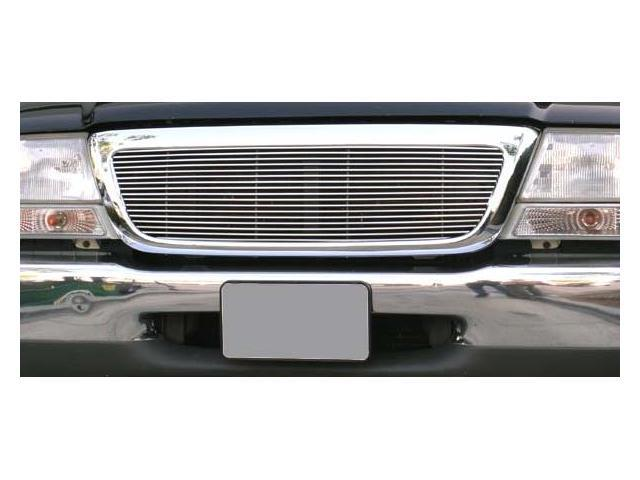 T-REX 1998-2000 Ford Ranger 2/4WD Billet Grille Insert 4/2WD - Full Opening, 1 Pc (17 Bars) POLISHED 20676