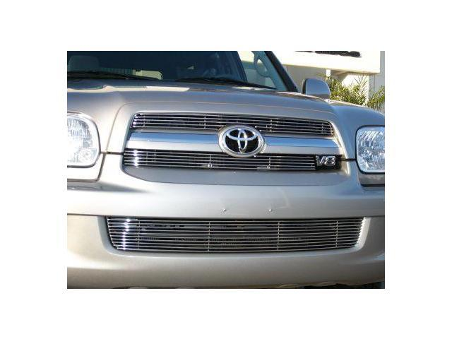 T-REX 2005-2007 Toyota Sequoia Billet Grille Insert - 2 Pc (5, 10 Bars) POLISHED 20901