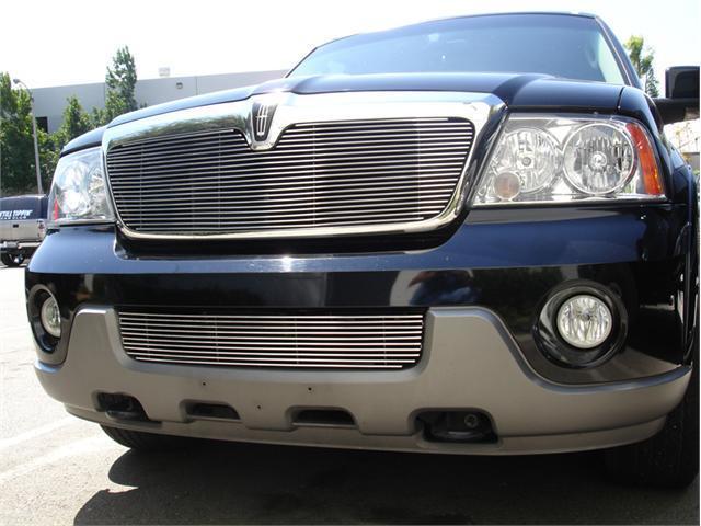 T-REX 2003-2006 Lincoln Navigator Billet Grille Insert (21 Bars) POLISHED 20695
