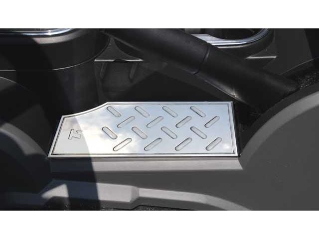T-REX 2007-2010 Jeep Wrangler T1 Series Interior Center Console Plate - below hand brake MACHINED 11481