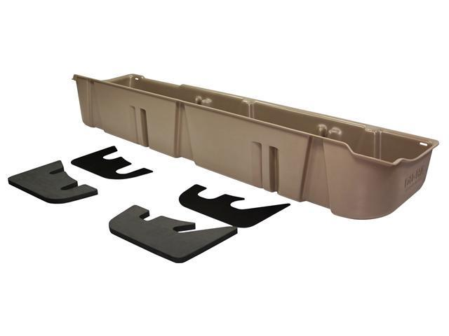 DU-HA Underseat Storage / Gun Case - Fits 2009-2012 Ford F-150 SuperCrew w/subwoofer - Tan 20080