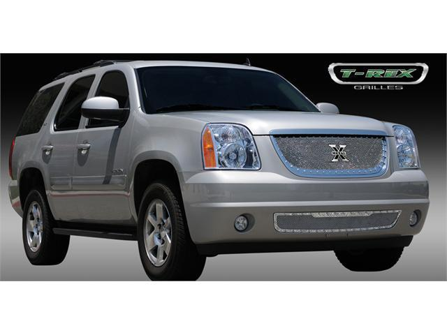 T-REX 2007-2012 GMC Yukon X-METAL Series - Studded Main Grille - Polished SS POLISHED 6711710