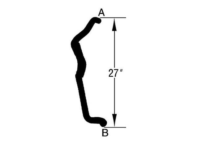 Omix-ada RADIATOR HOSE LOWER 3.0L CHRYSLER NS 97-00 TOWN & COUNTRY, CARAVAN, GRAND CARAVAN, VOYAGER, GRAND VOYAGER 17114.82