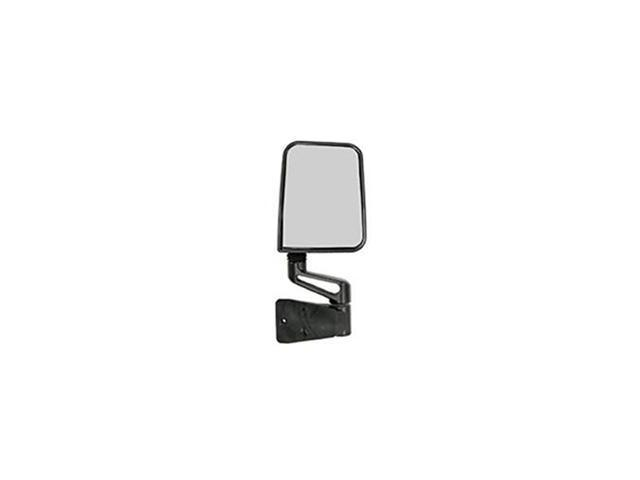 Rugged Ridge 110020.04 Door Mirror, Black, Right Side, 87-02 Jeep Wrangler