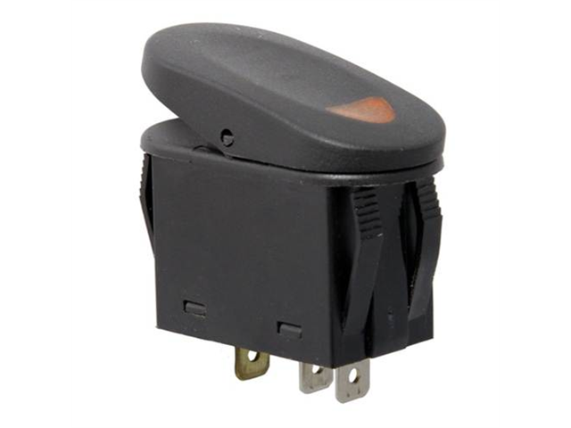 Rugged Ridge 17235.01 2-Position Rocker Switch, Amber