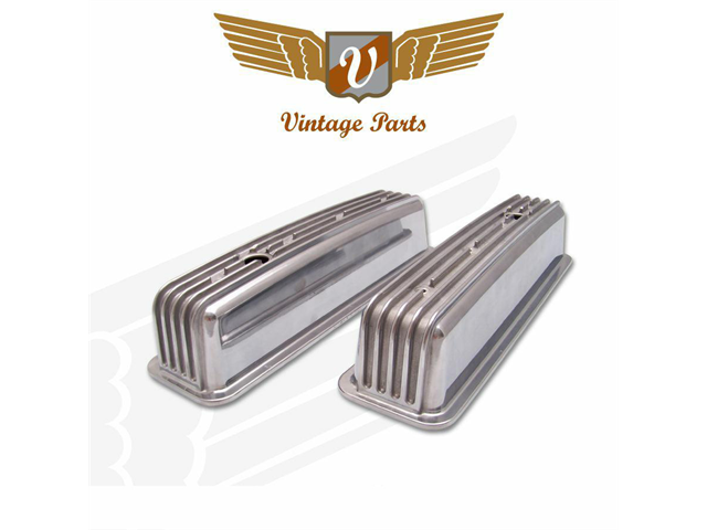 Vintage Small Block Chevy Valve Cover Center Bolt Tall w/Breather Hole Pair VPAVCYBA