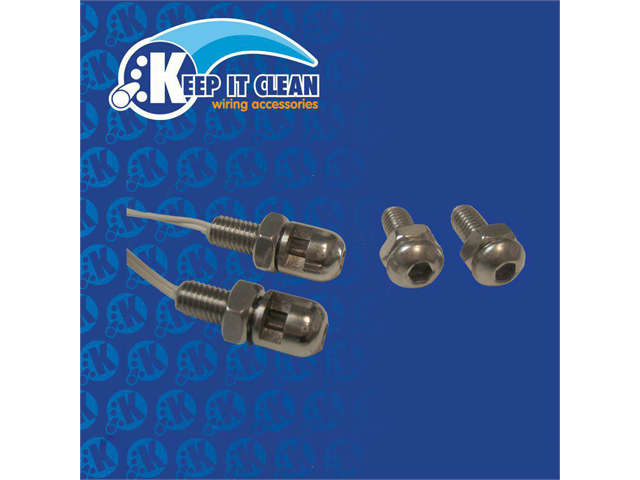 Keep It Clean BBOLTS Bright Bolt™ Stainless Steel  2 Lighted Bolts W/ Nuts