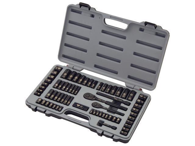 Stanley 92-824hb 69-piece Black Chrome Mechanics Tool Set