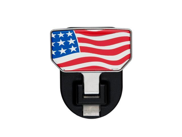 CARR HD Universal Hitch Step American Flag - single 183032