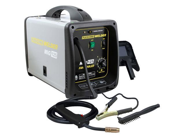Pro-Series 125 Amp Fluxcore MIG Welder Kit MMIG125