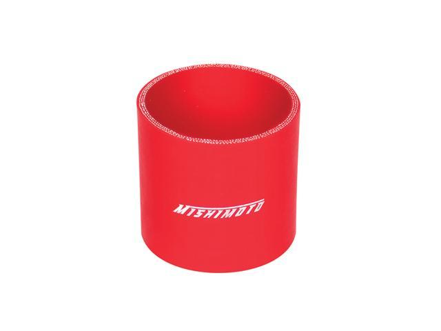 Mishimoto 2.5 Inch Red Straight Coupler MMCP-25SRD