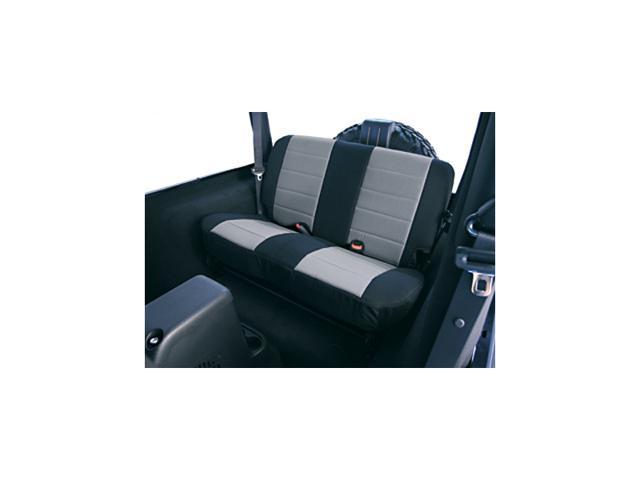 Rugged Ridge 13281.09 Fabric Rear Seat Covers, 97-02 Jeep Wrangler TJ