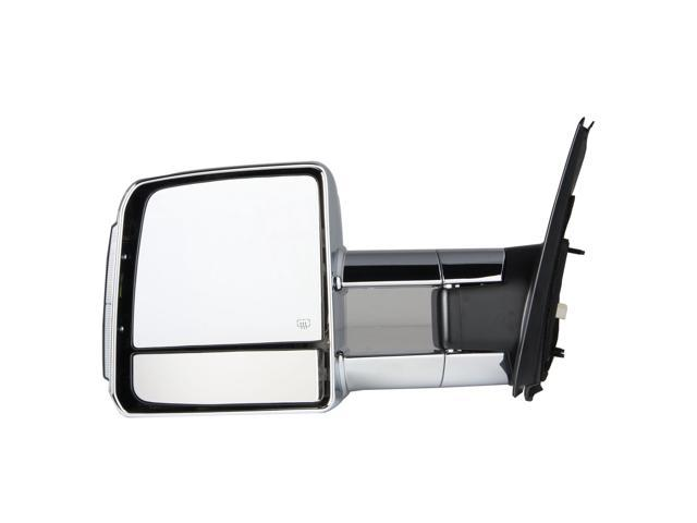 Pilot 07-10 Toyota Tundra w/ Towing Package Extendable w/ Amber Signal Lens Aftermarket Mirror   TYT194100LP