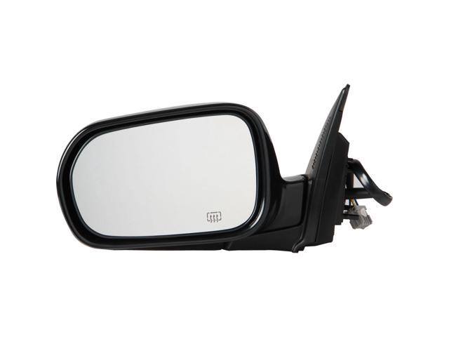 Pilot 04-06 Acura RSX Power Heated Mirror Left Black Smooth AC119410AL