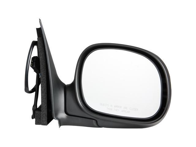 Pilot Power Non Heated Mirror Right Chrome/ Black Smooth/Textured FD949410AR