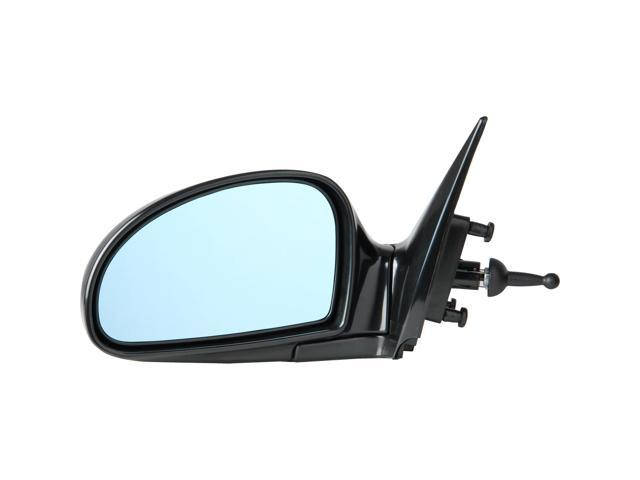 Pilot 06-06 Kia Spectra LX Model w/ Blue Tint Production date starting from 07/01/05 Manual Remote Mirror Left Black Smooth KA619410BL