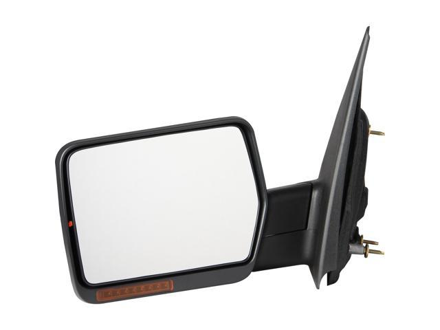 Pilot 04-08 Ford F-150 w/ Amber Reflector w/ Amber Signal Lens Power Heated Mirror Left Black Textured FD959410ELP