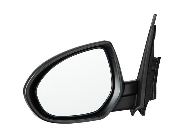 Pilot 10-10 Mazda 3 Power Non Heated Mirror Left Black Smooth/Textured MZ3694100L