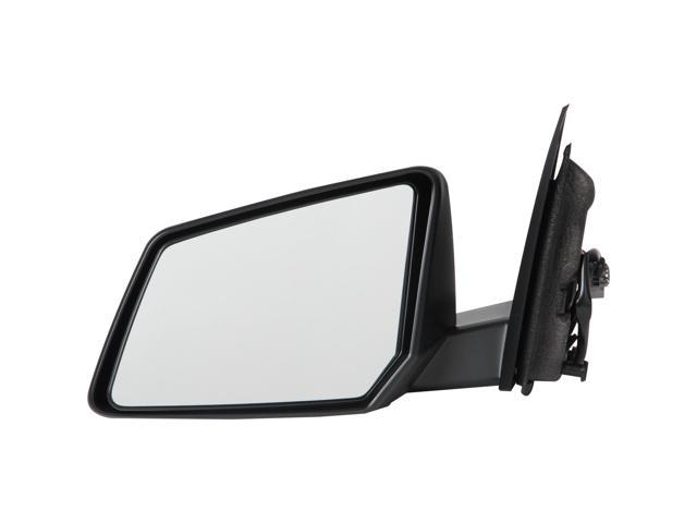 Pilot 09-10 Chevrolet Traverse w/ Manual Folding 08-10 Saturn Outlook 07-10 GMC Acadia Power Non Heated Mirror Left Black Textured CVA594100L