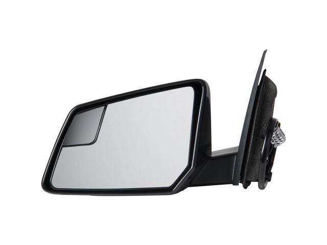 Pilot 09-10 Chevrolet Traverse w/ Manual Folding 07-08 GMC Acadia w/ Manual Folding Power Heated Mirror Left Black Smooth/Textured ...