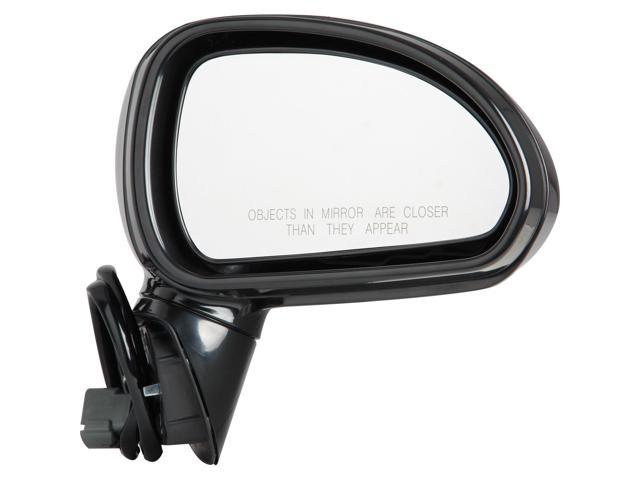 Pilot 06-06 Mitsubishi Eclipse Coupe Power Non Heated Mirror Right Black Smooth MB5394100R