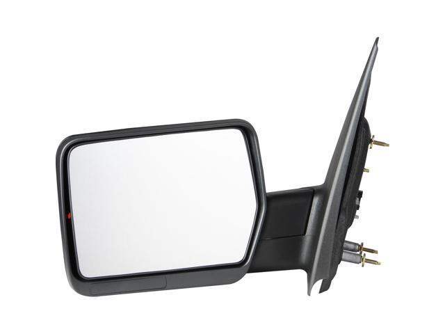 Pilot 04-08 Ford F-150 w/ Amber Reflector Power Non Heated Mirror Left Black Textured FD959410BLP