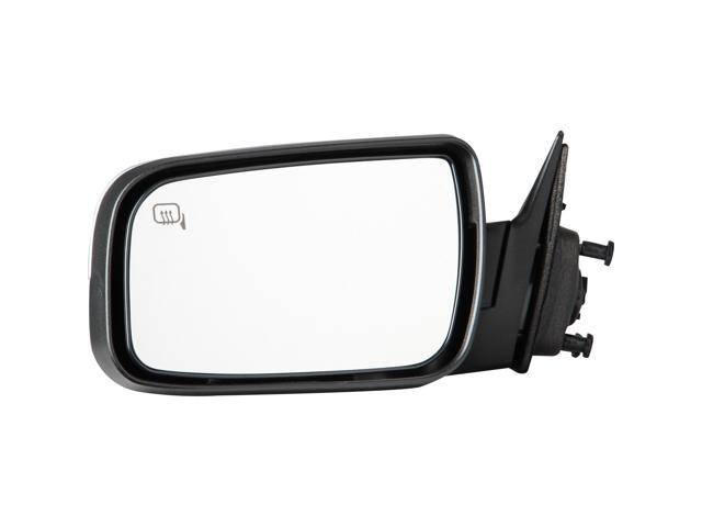 Pilot 08-09 Mercury Sable w/o Memory w/ Puddle Lamp Power Heated Mirror Left Stain-Chrome/ Black Smooth/Textured MC4594100L