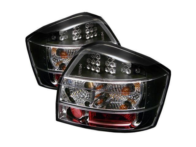Spyder Auto Audi A4 02-05 LED Tail Lights - Black ALT-YD-AA402-LED-BK