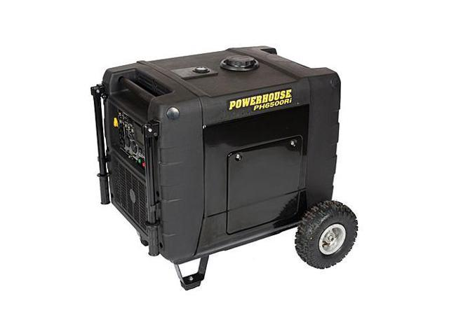 Powerhouse 69274 6500-Watt 11.6 HP 4-Stroke Gas Powered Portable Inverter/Generator with Remote Start, 120/240-Volt (CARB Compliant)
