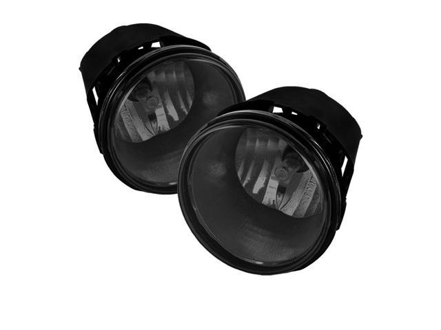 Spyder Auto Jeep Grand Cherokee 05-09/Commander 06-08/Chrysler 300 SRT8/Aspen 07-08/Dodge Dakota 05-09 Durango 07-09/Mitsubishi Raider 06-09 OEM Fog Lights - Smoke 5039002