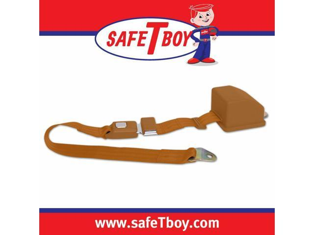 Safe Tboy 2pt Copper Retractable Standard buckle - Each STBSB2RSCO