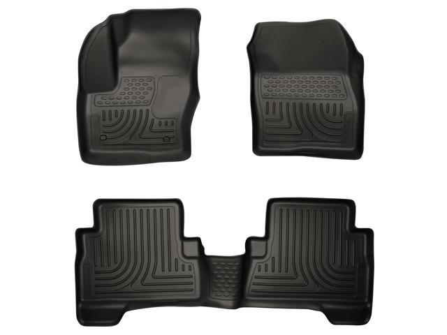 Husky Liners Weatherbeater Series Front & 2Nd Seat Floor Liners 99741 2013-2015  Ford C-Max