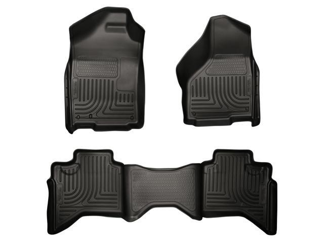 Husky Liners Weatherbeater Series Front & 2Nd Seat Floor Liners 99011 2009-2010  Dodge Ram 1500