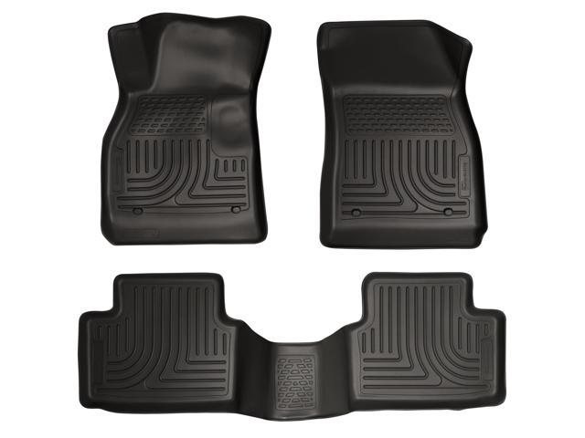 Husky Liners Weatherbeater Series Front & 2Nd Seat Floor Liners 98191 2013-2015  Chevrolet Malibu