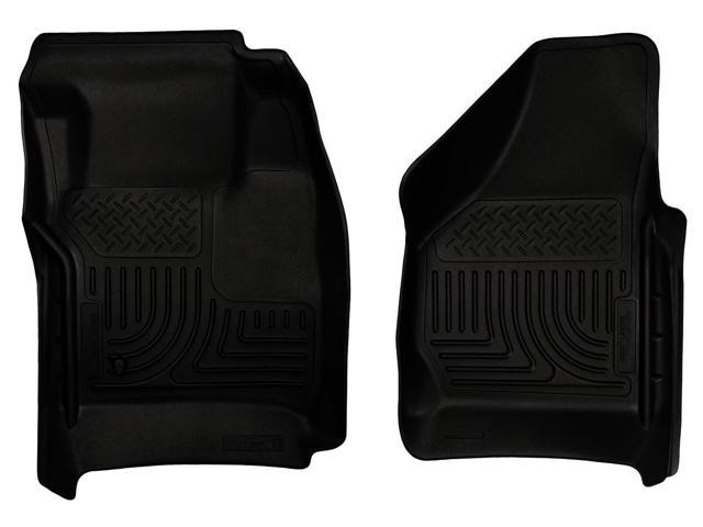 Husky Liners Weatherbeater Series Front Floor Liners 18381 2008-2010  Ford F-250 Super Duty