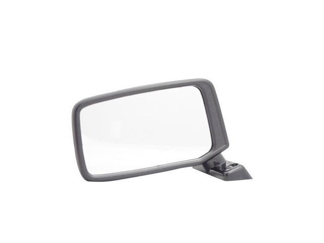 Pilot 80-86 Nissan Pickup 720&#59; Deluxe, King Cab Model Manual Mirror Right Black Smooth DT9109410-1R00