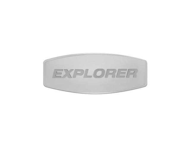 Bully Explorer Custom Dual Layer Stainless Steel Hitch Cover CRB-10
