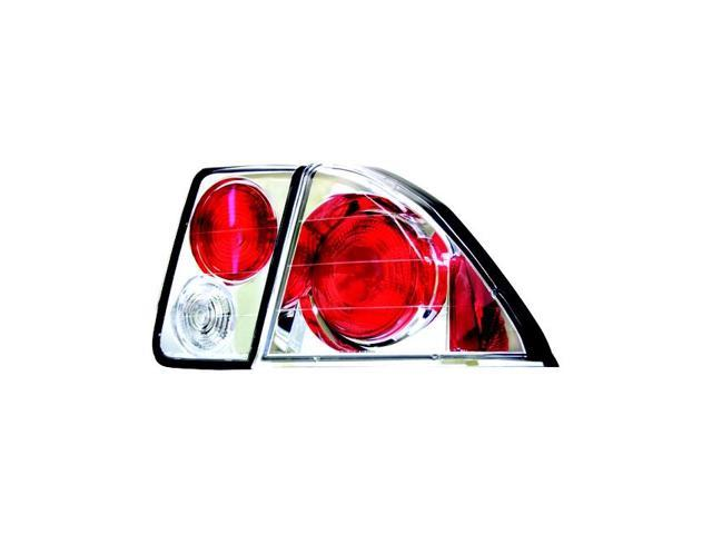 IPCW Tail Lamp CWT-735C2 01-04 Honda Civic Crystal Clear