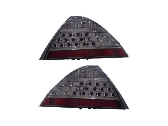 CG HONDA ACCORD 06-07 4 DR TAILLIGHT SMOKE (NO LED KIT) 03-HA2006TLED4DSM PAIR