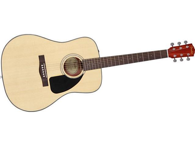 Fender CD-60 Classic Design Natural Acoustic Guitar with Case