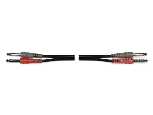 """Hosa Dual Cable 1/4"""" Male to1/4"""" Male, 9.9'"""