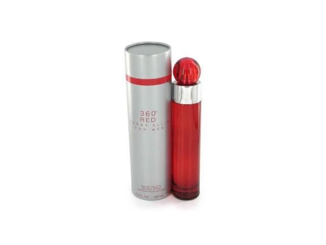 Perry Ellis 360 Red by Perry Ellis Eau De Toilette Spray 3.4 oz