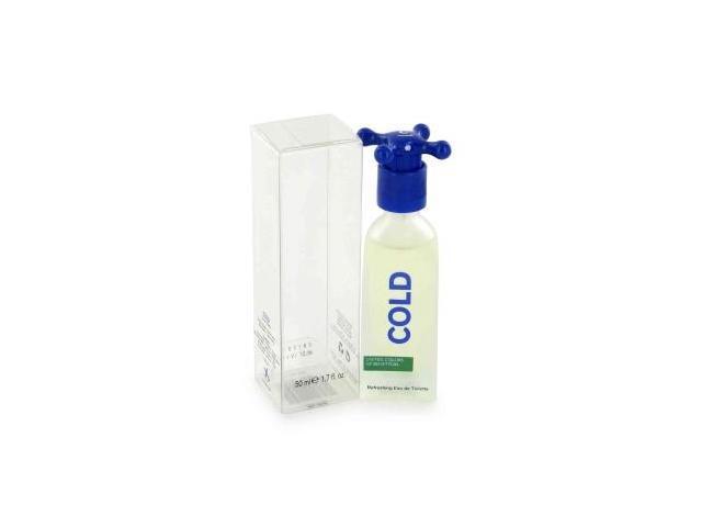 COLD by Benetton Eau De Toilette Spray 3.4 oz