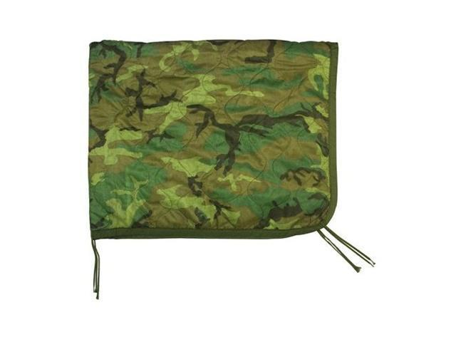Government Issue Woodland Camouflage Poncho Liner