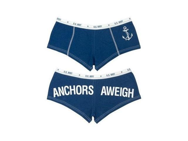 Navy Anchors Away Military Clothing Booty Shorts