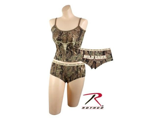 Women's ''Wild Game'' Camo Booty Shorts